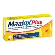 Maalox Plus 30 cpr.